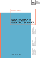 Cover of Elektronika ir Elektrotechnika journal